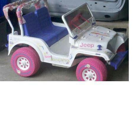 power wheels jeep white 17 best ideas about barbie power wheels on pinterest