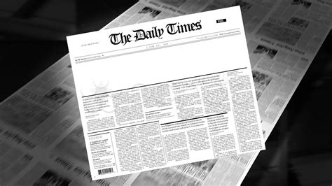 blank newspaper headline intro loops stock footage youtube