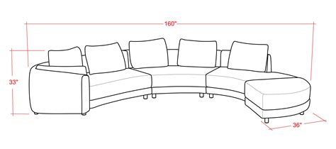 home decorators curved sofa furniture image plans curved sectional sofa for living
