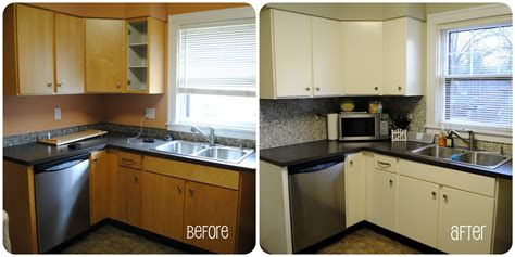 paint kitchen cabinets before after painting kitchen cabinets white bеfоrе and aftеr safe 7295