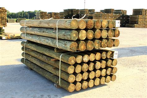 Round Fence Posts - American Timber and Steel