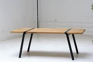Tréteaux Pour Table : tr teaux pour une d co design vallin architecte ~ Melissatoandfro.com Idées de Décoration