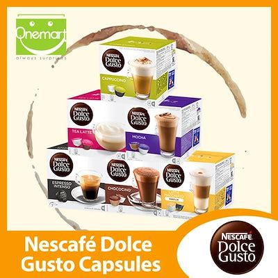 nescafe dolce gusto promotion qoo10 nescafe dolce gusto capsules box official e retailer 11 flavor drinks