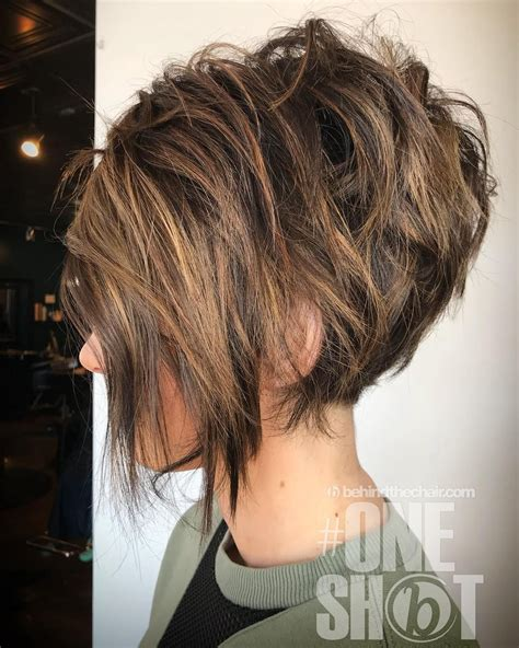 trendy messy bob hairstyles  haircuts  female