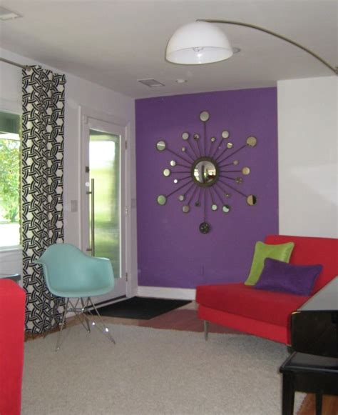 curtain color for purple wall interesting decorating with lavender color walls with red sofa purple green pillow black white
