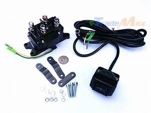 Find Combo Waterproof 12v Atv Utv Solenoid Relay Contractor And Winch Rocker Switch Motorcycle