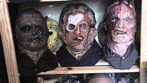 bust jason voorhees Friday the 13 no masked with no mask ...