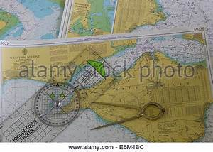 Nautical Charts Of The Solent And Isle Of Wight And