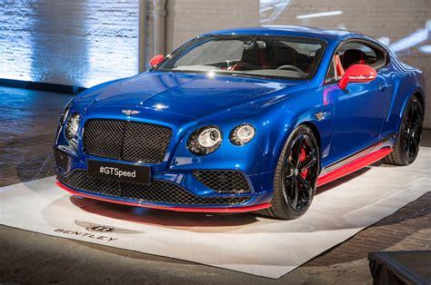 2017 Bentley Continental Gt Speed Starts At 240300