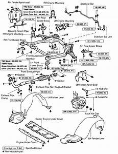 1993 Toyota Camry Engine Diagram Exhaust
