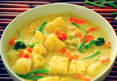 thai curry thai yellow curry with fish recipes dishmaps