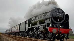 Steam Locomotive, Passenger Train Wagons Desktop Wallpaper ...