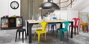 Bureau Industriel Maison Du Monde : 13 id es de chaise pour une d co industrielle ~ Teatrodelosmanantiales.com Idées de Décoration