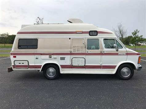1989 Dodge Explorer Class B Camper Van Explorer In Grand