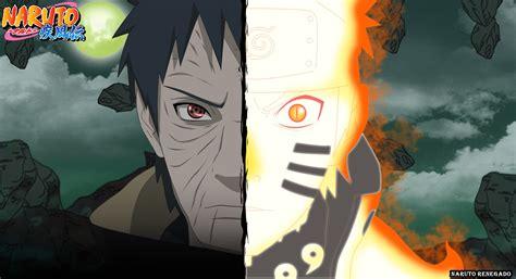 Naruto Y Obito Fanart By Narutorenegado01 On