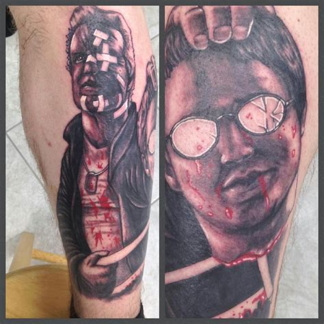 My leg piece done by Mike Nemo. Marv and Kevin from the movie Sin City - Yelp
