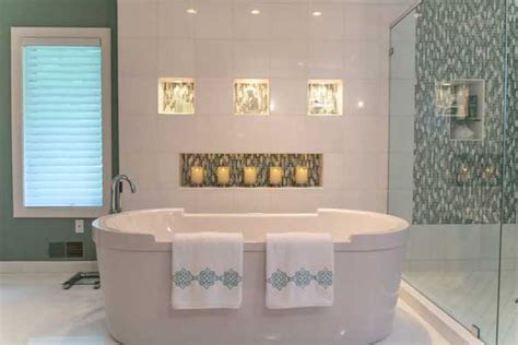 refined comfort master bath remodel  rochester ny