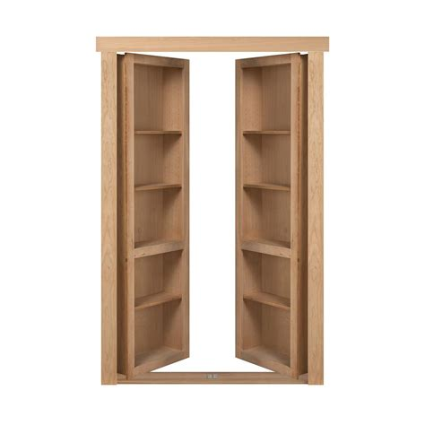 Door Bookcase by The Murphy Door 72 In X 80 In Flush Mount Assembled