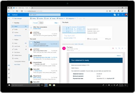 Microsoft Office Outlook by Microsoft Announces Several New Outlook Features For