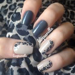 Gray nail art designs and design