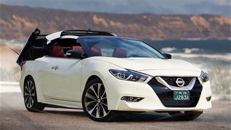 2018 nissan maxima convertible youtube