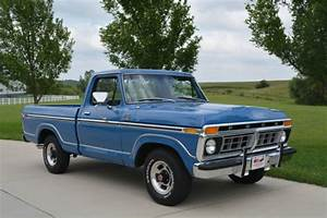 1977 Ford F100 Ranger Xlt Short Box V8 Auto P  S A  C Super