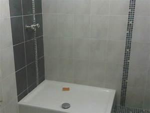 fantaisie carrelage salle de bain avec pose de carrelage With pose carrelage salle de bain