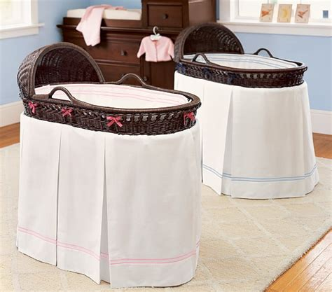 Bassinet Bedding by Cotton Bassinet Fitted Sheet Pottery Barn
