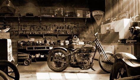 motorcycle shop by mike mcglothlen