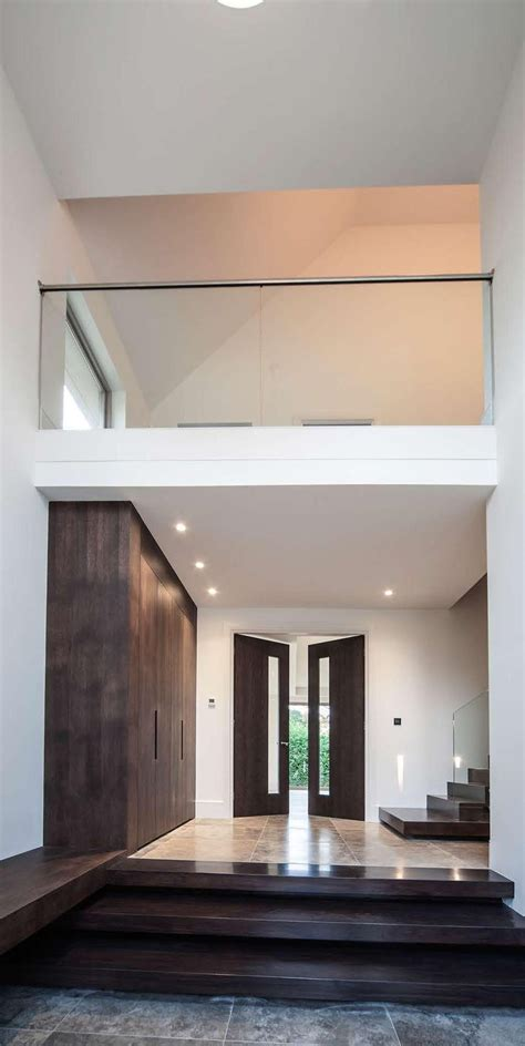 orchard double height entrance hall modern foyer