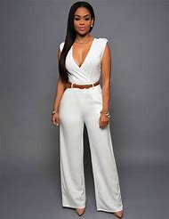 f54ea6560d4 2016 Slim Casual Long Pants Loose Jumpsuits Sexy Loose Wide Leg Pants