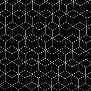 Grafische Muster Schwarz Weiß : stoff grafische muster dekostoff w rfel schwarz wei geometrisches muster ein designerst ck ~ Bigdaddyawards.com Haus und Dekorationen
