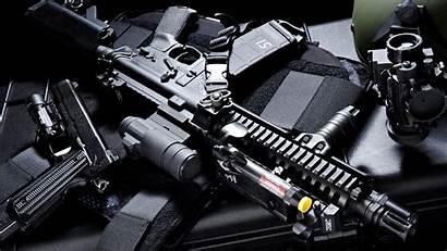 Machine Desktop Gun Scope Wallpapersafari Assault Armor