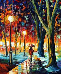 LONELY GIRL — PALETTE KNIFE Oil Painting On Canvas By ...