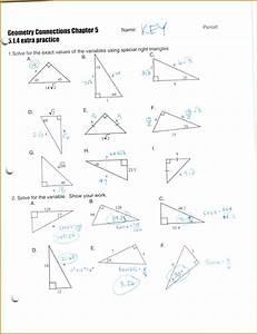 4 Worksheet Trigonometric Ratios Sohcahtoa Answers