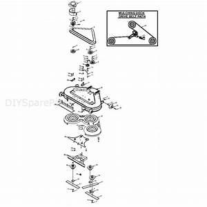 Westwood 44 U0026quot  Combi Deck  Combi 44 U0026quot  Deck  Parts Diagram  Page 1