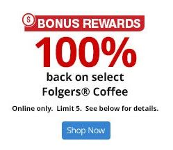Office Max Rewards by 100 Back On Folgers Coffee More Great Office Depot