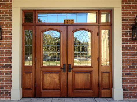 Commercial Exterior Wood Doors