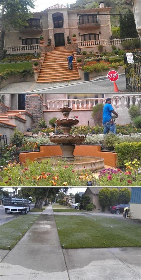 ramos landscaping provides garden maintenance yard clean up planting home and yard