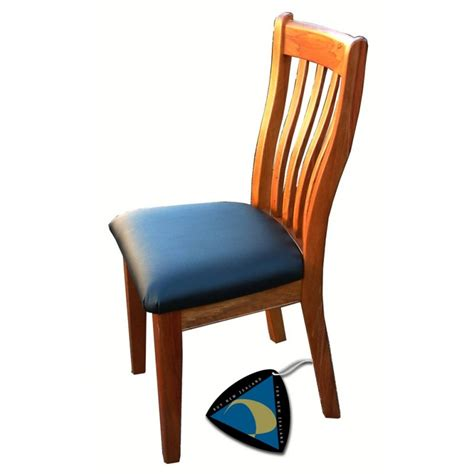 geo chair fabric or vinyl
