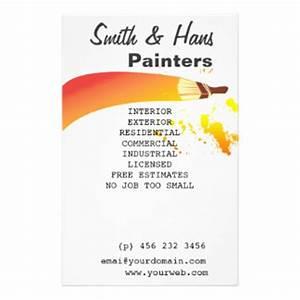 Painters Promotional Flyers, Painters Promotional Flyer