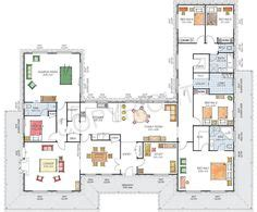 shaped houses images diy ideas  home home plans country homes