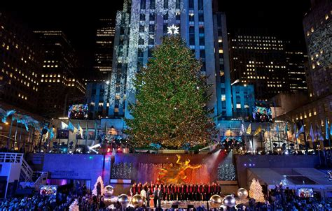 rockefeller center tree lighting 2017 united