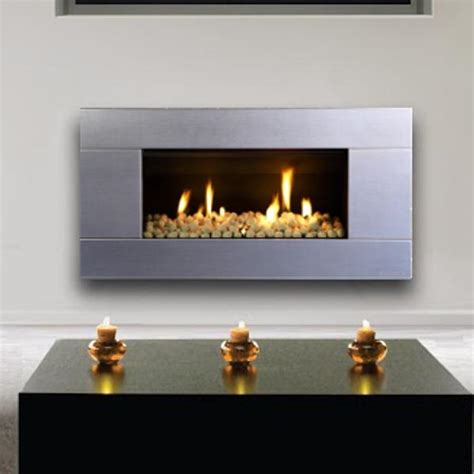 Fireplace Natural Gas by Escea St900 Indoor Natural Gas Fireplace Stainless Steel