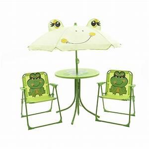 Salon De Jardin Pour Enfant : salon de jardin pour enfant grenouille vert mobilier ~ Dailycaller-alerts.com Idées de Décoration