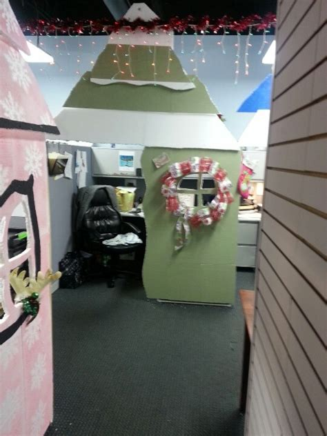 house office cubicles turned  whoville