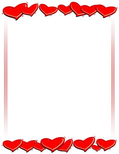 Best Valentine Clipart Border #24661 - Clipartion.com