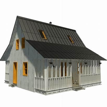 Plans Porches Tiny Cabin Loft Pinuphouses Porch