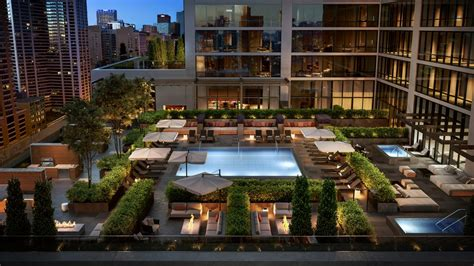 renderings  luxury fitness amenities  nema chicago