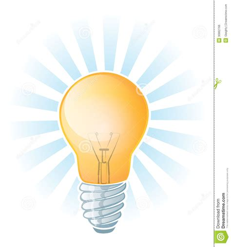 glowing light bulb royalty free stock images image glowing lightbulb illustration stock vector illustration of concepts creativity 30862766